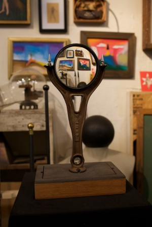 Magnifying Glass in Frederick's Studio